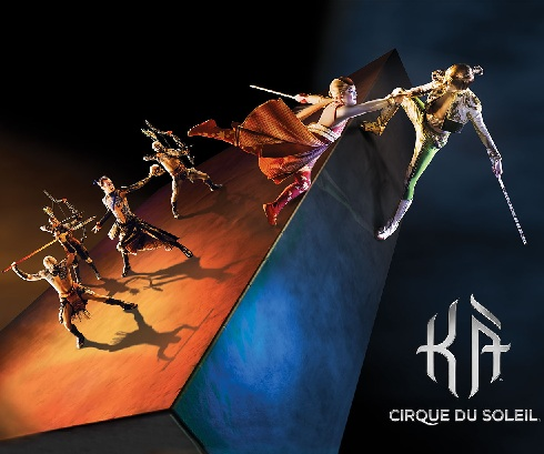 KA by Cirque Du Soleil at the MGM Grand