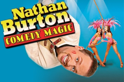Nathan Burton Comedy Magic Show at the Flamingo