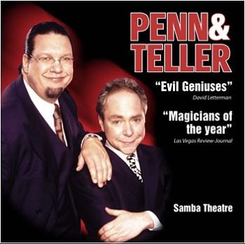 Penn & Teller at the Rio All-Suite Las Vegas