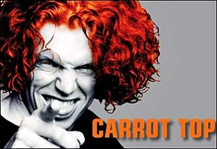 Carrot Top at the Luxor