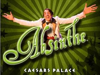 Absinthe at the Caesars Palace Las Vegas