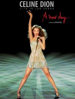 Celine Dion at the Caesars Palace Las Vegas
