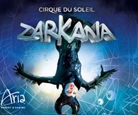 Zarkana by Cirque Du Soleil at the Aria