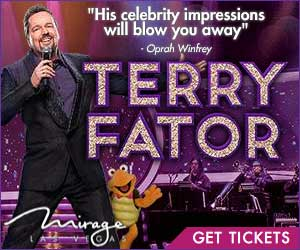 Terry Fator at the Mirage